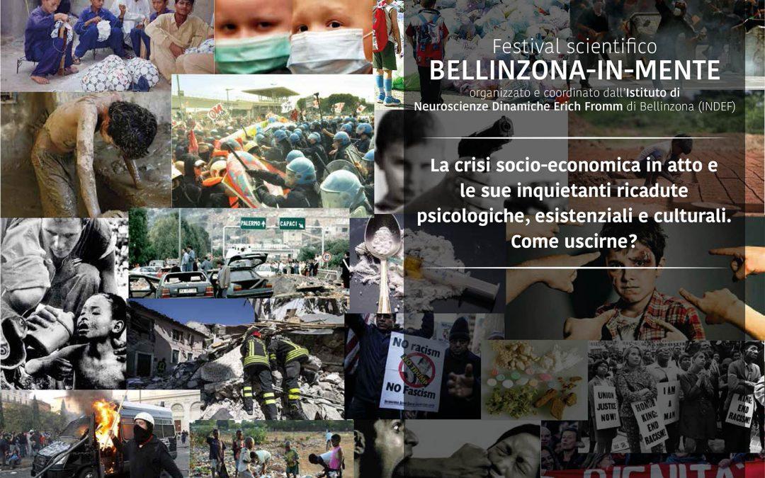"""""""La crisi socio-economica in atto e le sue inquietanti ricadute psicologiche, esistenziali e culturali. Come uscirne?"""" – Bellinzona, 9 Giugno 2018"""