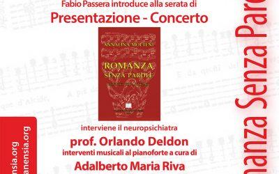 Romanza senza parole, monologo con l'Alzheimer: interviene il Dr. Med.Orlando Del Don